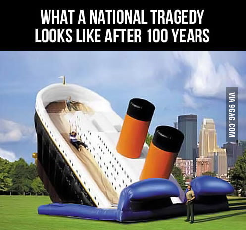 What a national tragedy looks like after 100 years.