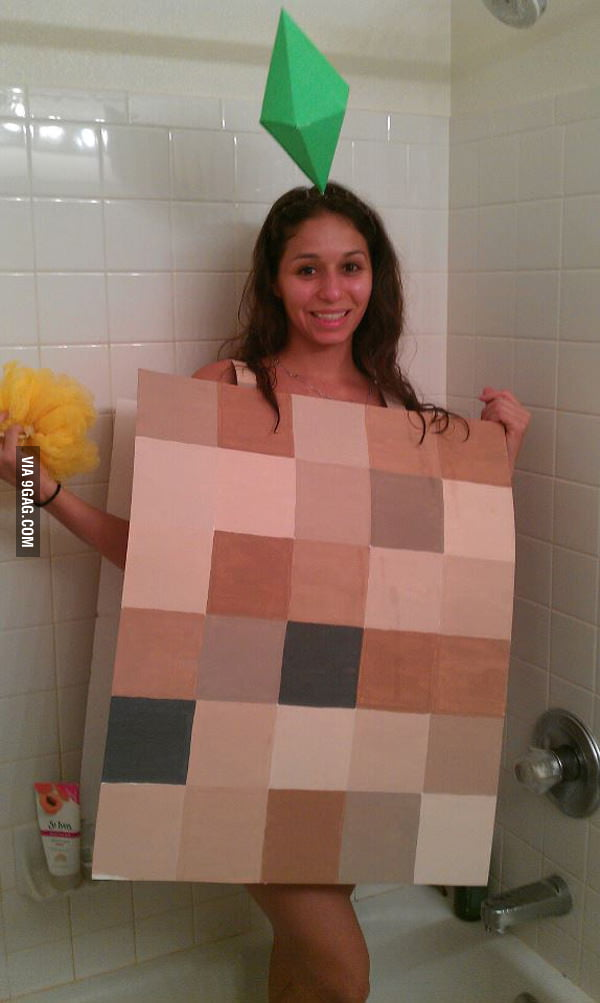 Naked Sims Cosplay