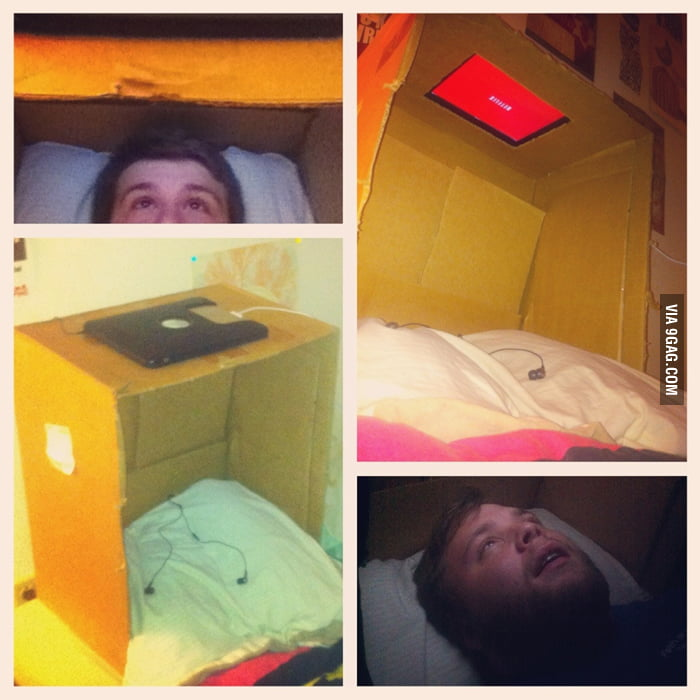 Awesome way to watch movies in bed.