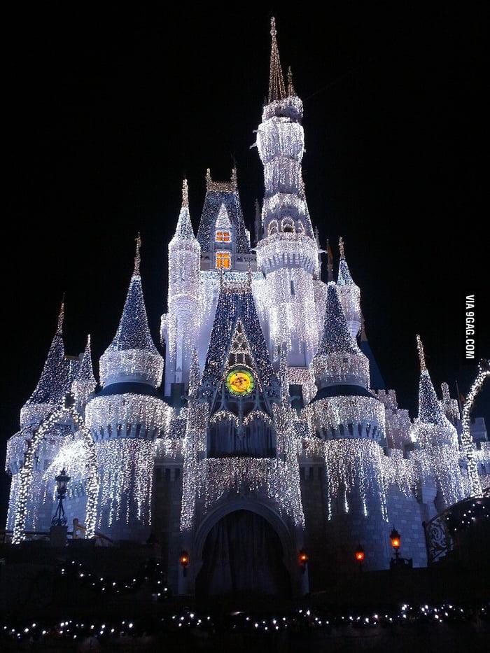 Cinderella Castle at the Magic Kingdom.