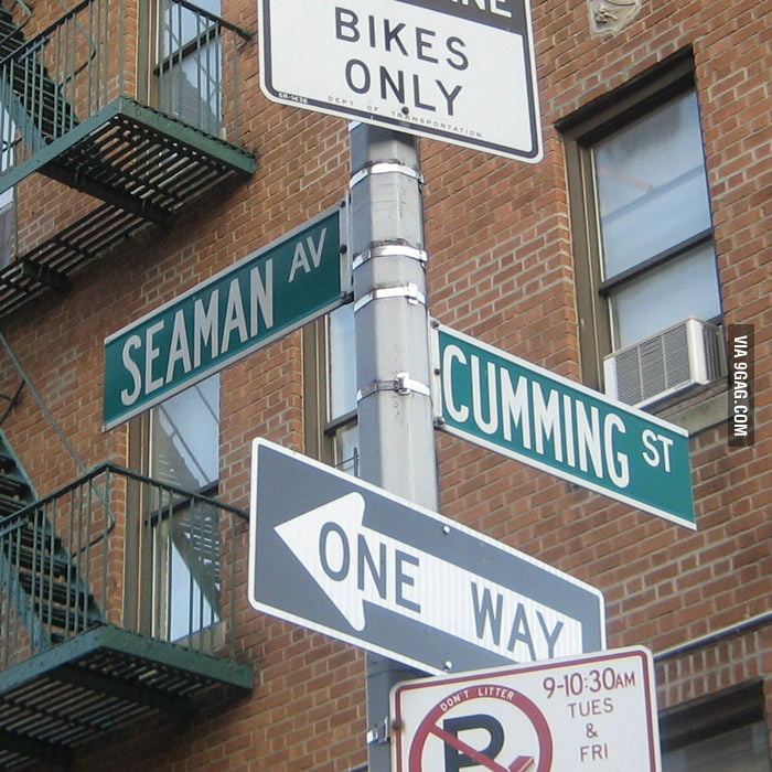 Seaman Av. and Cumming St. in NYC.