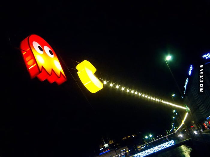 Awesome Pac-Man Lights.
