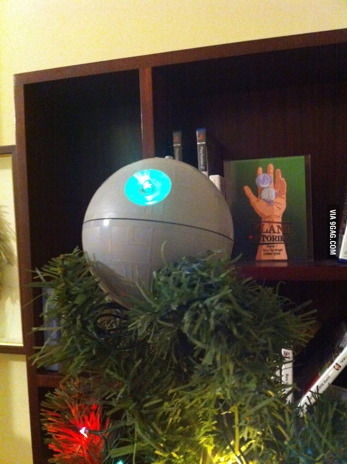 So they told me I need to put a star on my Christmas tree