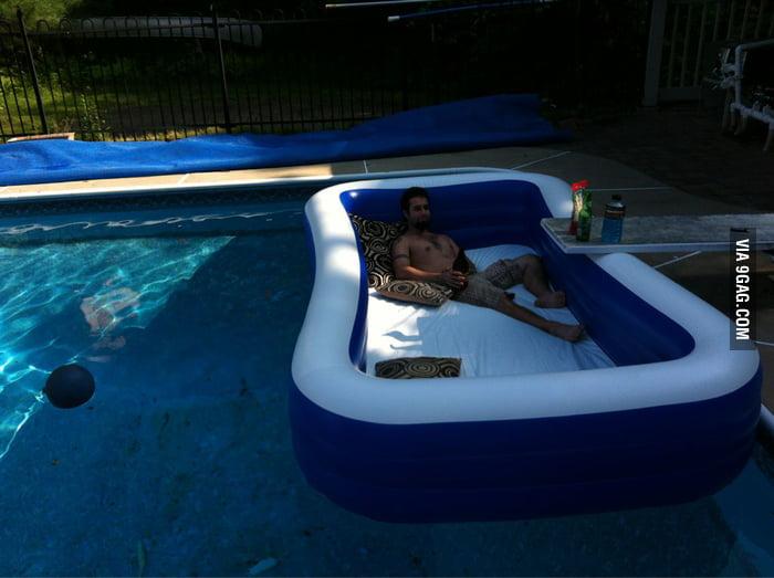 A pool in a pool!