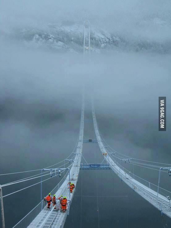 Norway Sky Bridge
