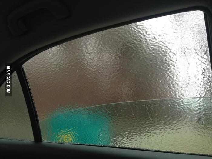 Ice window.