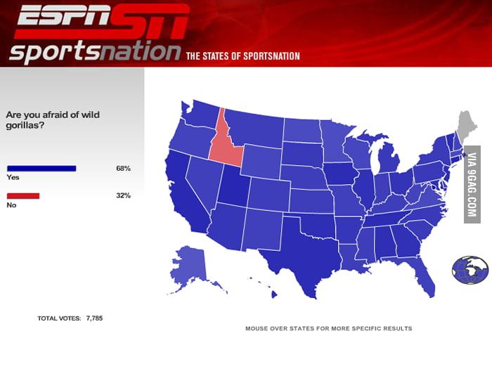 Idaho people have balls.