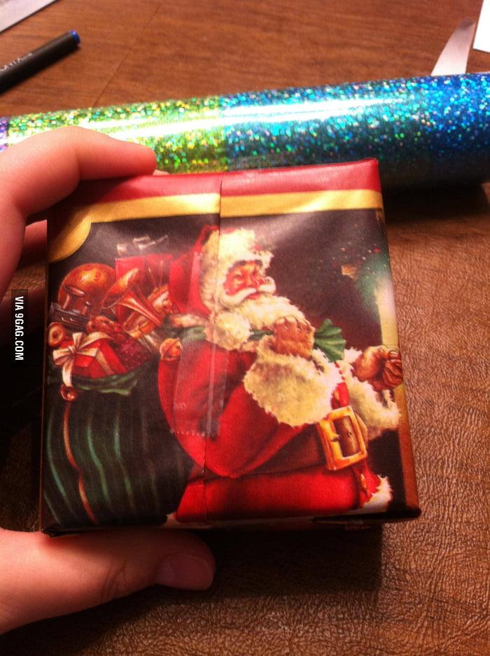 Wrapping Level: Santa!