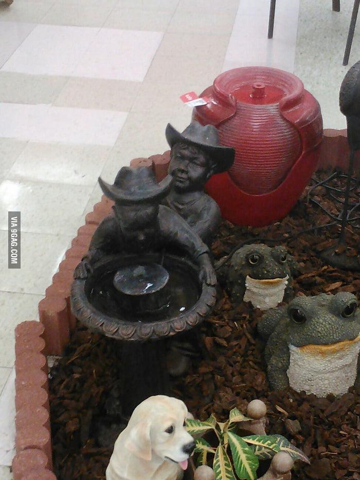 Brokeback Fountain
