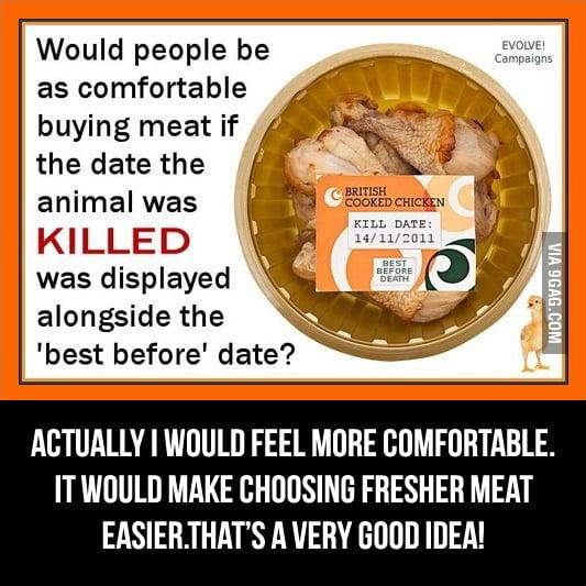 When vegan idea backfires.