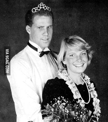 Will Ferrell at his senior prom.