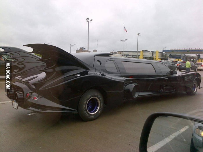 Saw this Batmobile today.