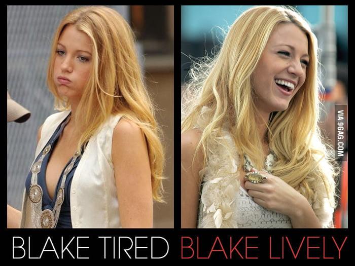 Blake Tired & Blake Lively