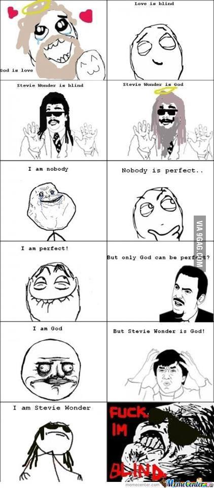 Stevie Wonder is god.