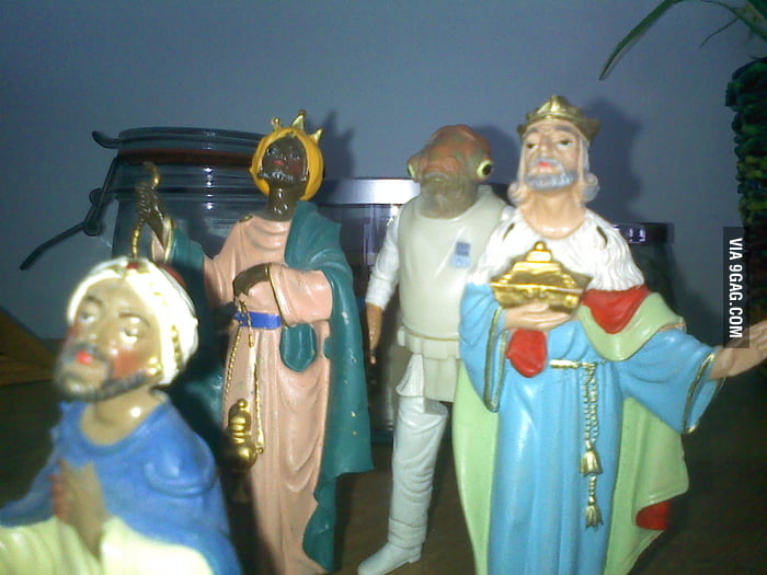 Nobody has noticed the 4th wise man yet.