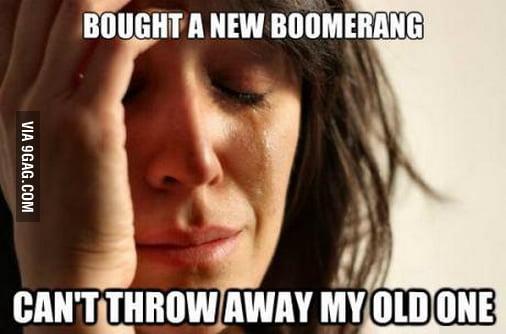 Boomerang problems