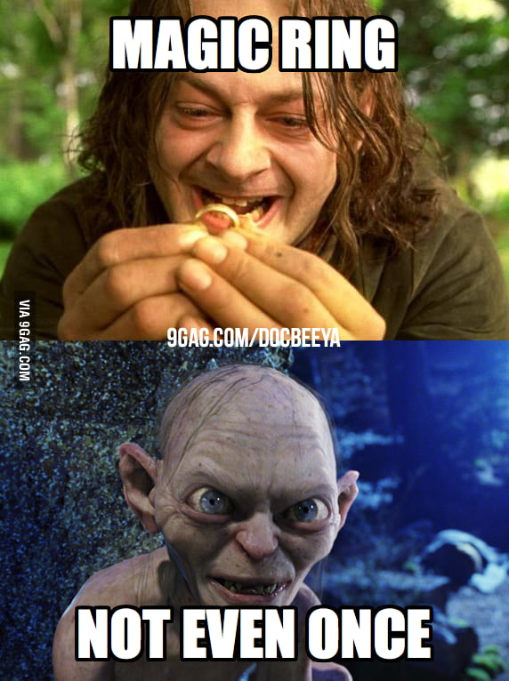 Magic Ring. Not Even Once.