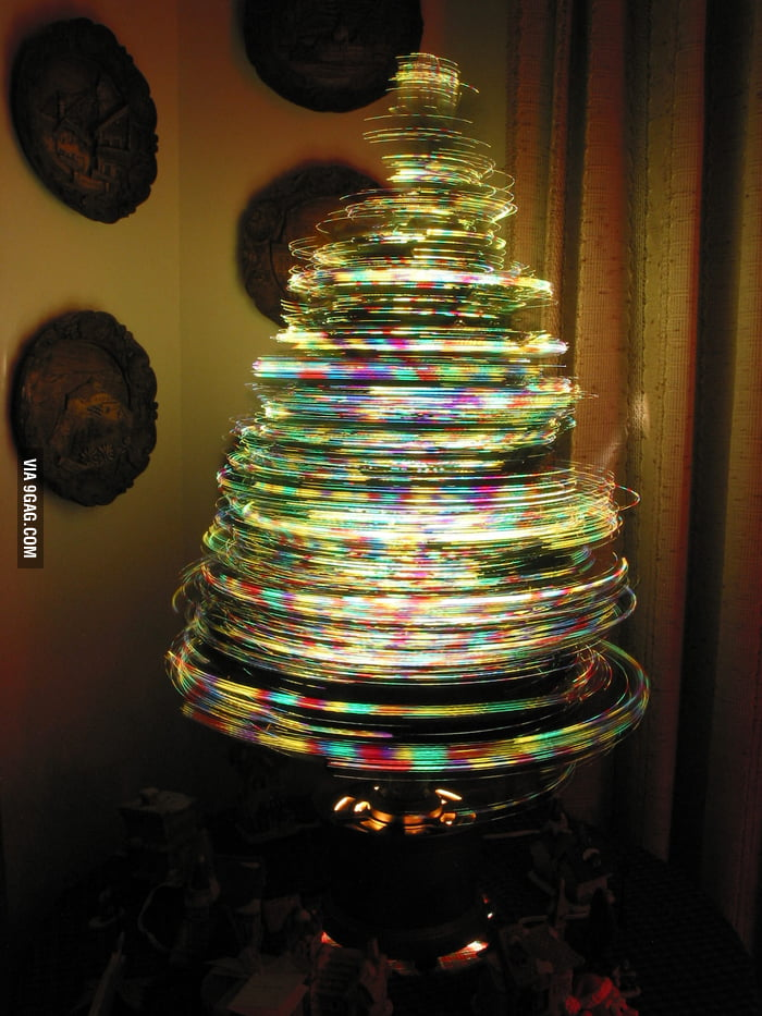 Rotating Christmas tree!
