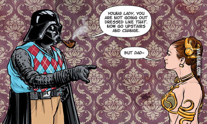 You're a Skywalker, not a street walker!