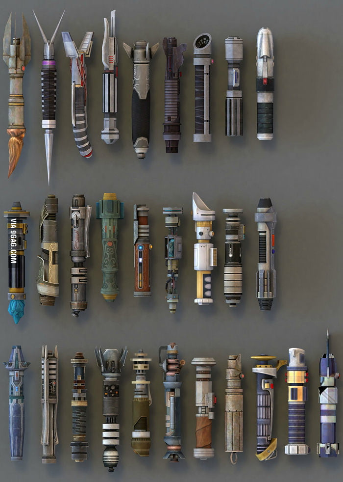 Lightsabers Collection
