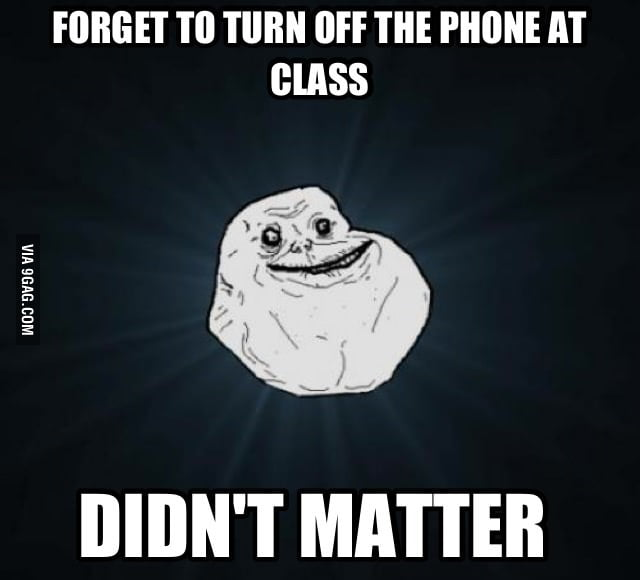 Forever Alone's High School Memories