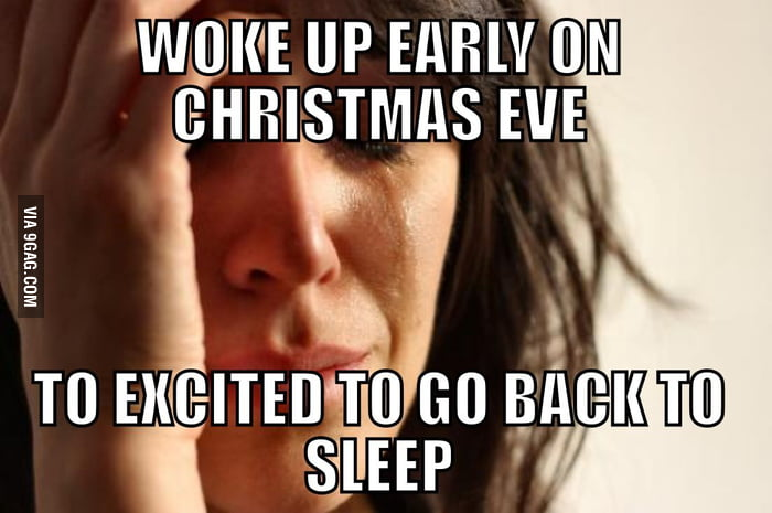 First world christmas problem