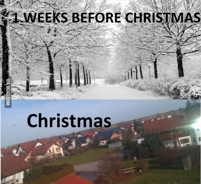 Scumbag weather in Germany