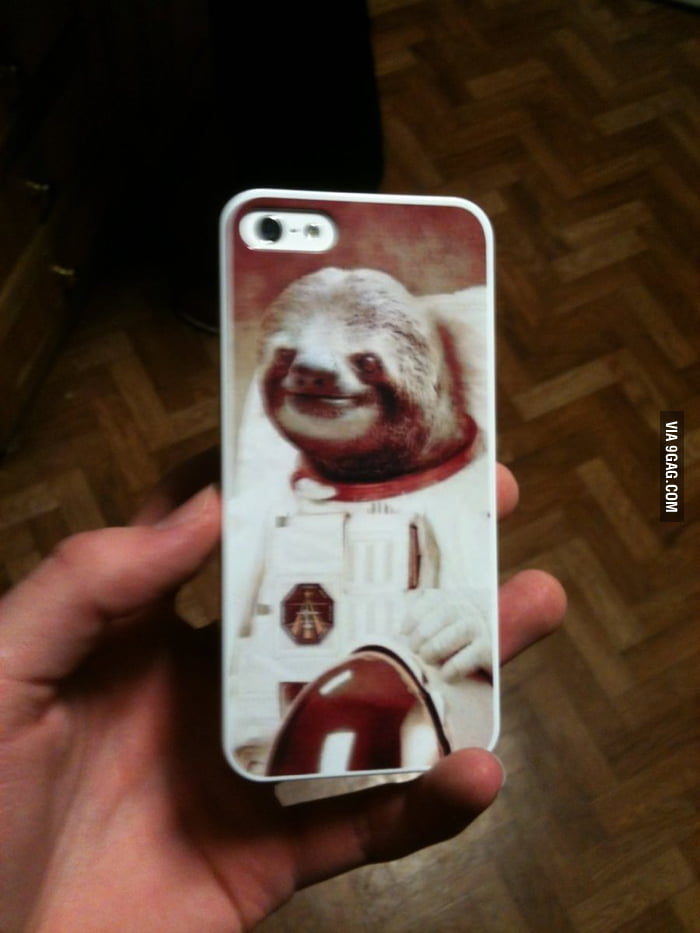 So my sister's new iPhone case just arrived...