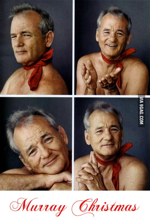 Murray Christmas to you.
