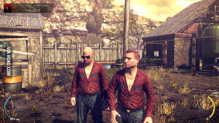 Agent 47 also hates it when  someone wears the same outfit..