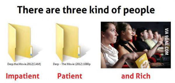 There are 3 Kinds of People