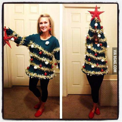 Mother of Christmas tree!