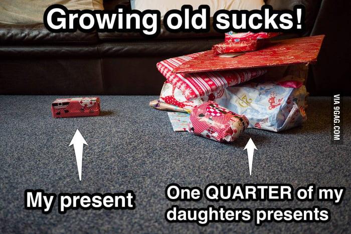Growing old SUCKS at Christmas!