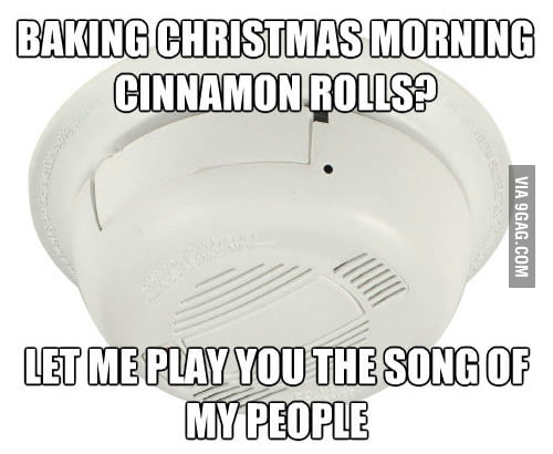 Scumbag Alarm ruined my Christmas surprise.
