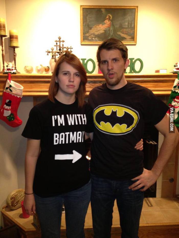 I'm with Batman.