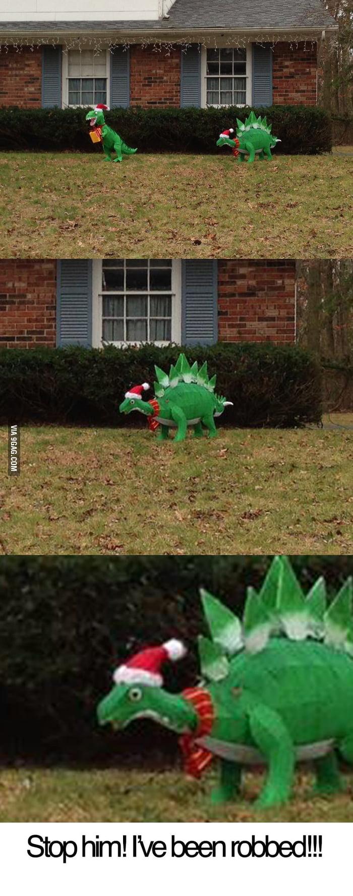 Xmas T-Rex is actually...