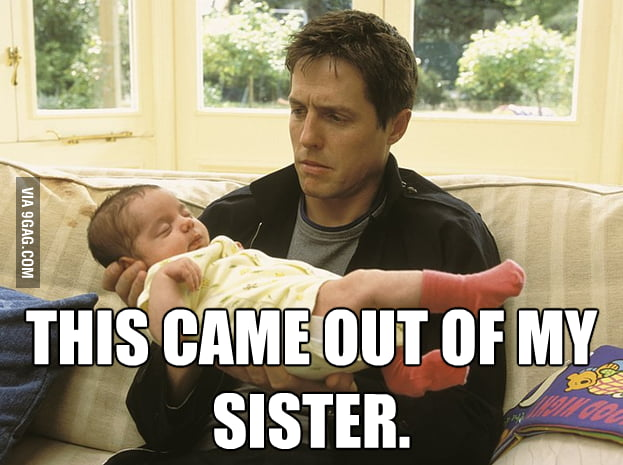 How I feel holding my newborn nephew.