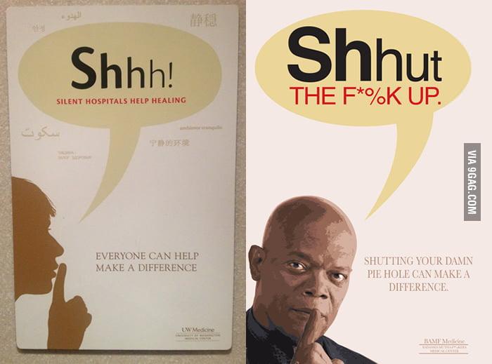 Samuel L. Jackson's Shhh!