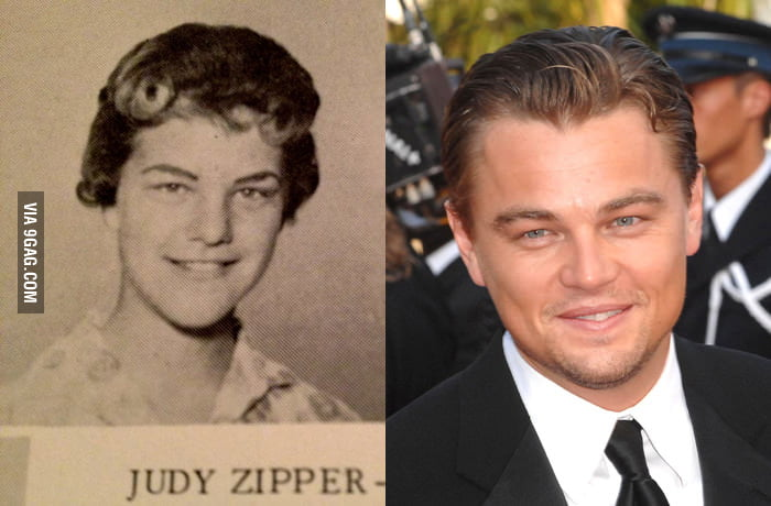 Leonard DiCaprio is actually a housewife from the 50s.