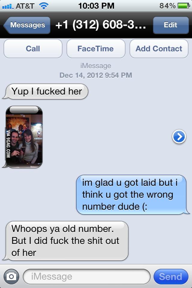 Random dude texted me
