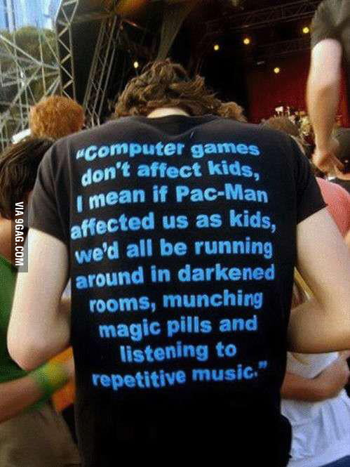 Computer games don't affect kids