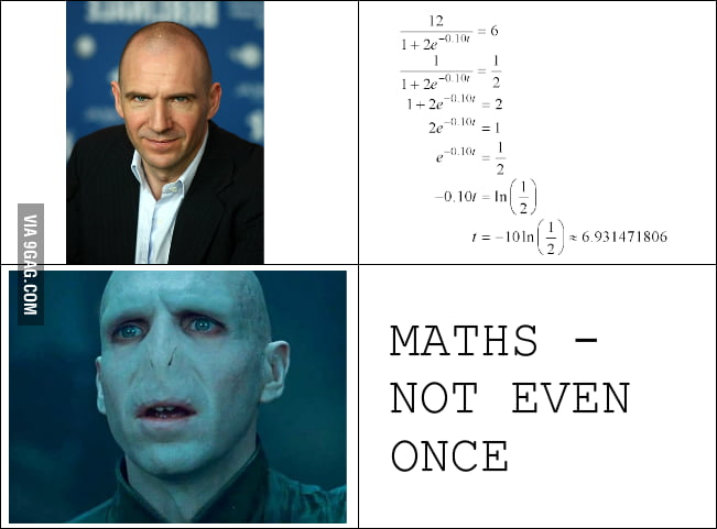 Maths is way worse than meth