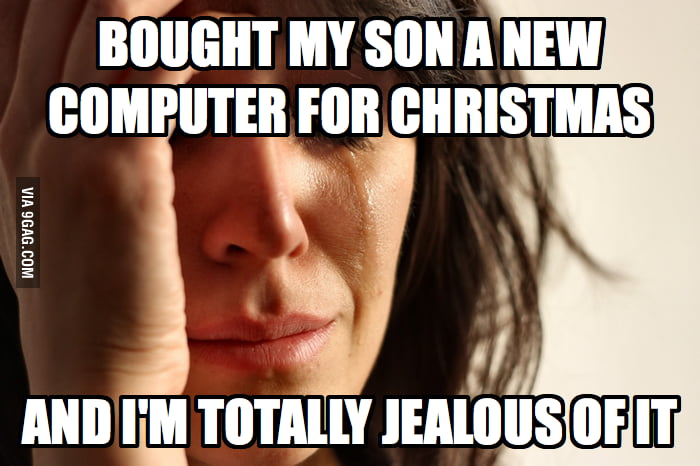 The pain of being a gamer dad.