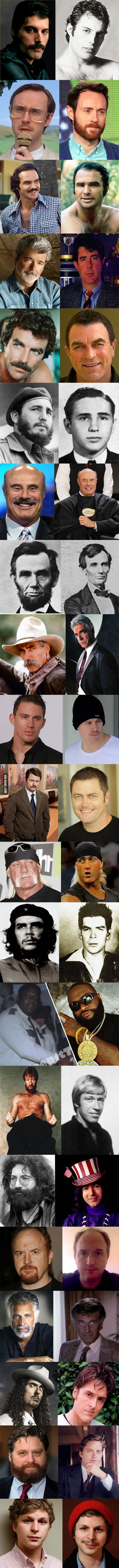 Beards can change everything