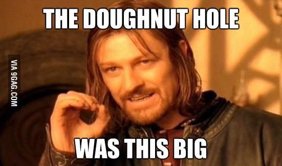 Boromir at Dunkin' Doughnuts