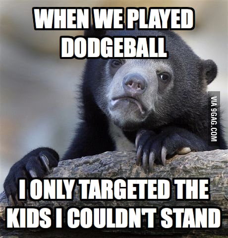 As a camp counselor, this is how I play dodgeball.