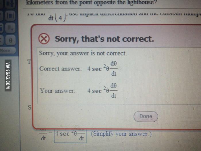 I guess I'll never get math.