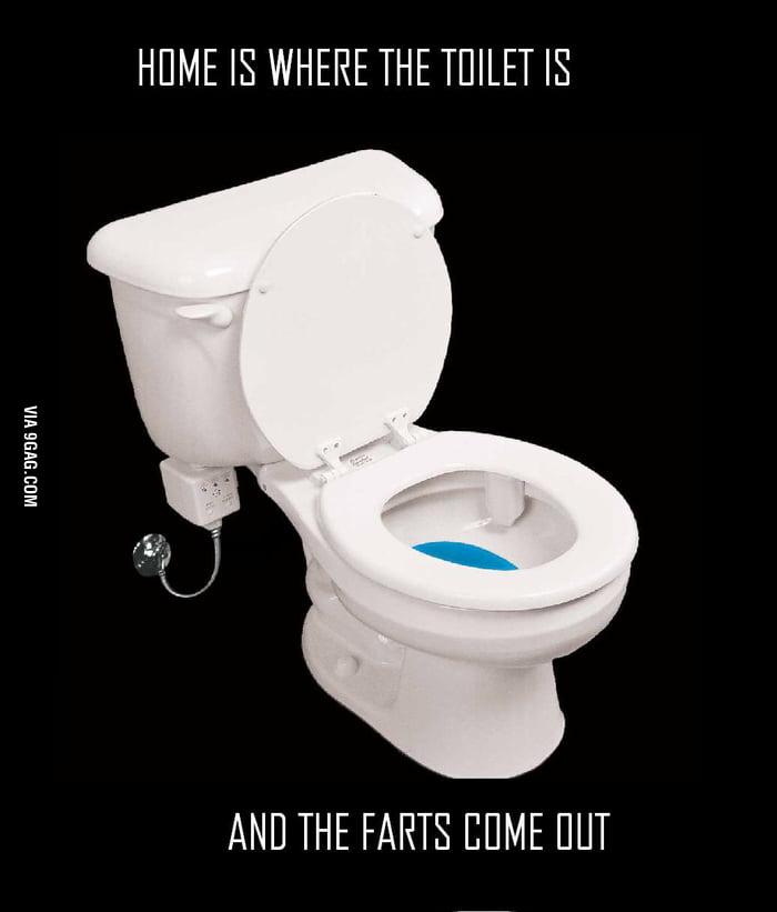 I like sht*ing in my own bathroom...