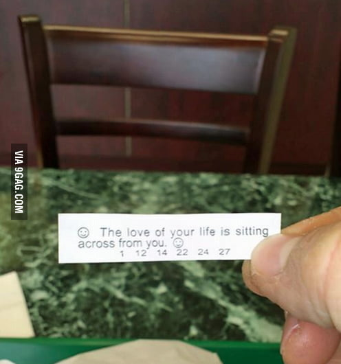 Forever alone LVL: Fortune cookie