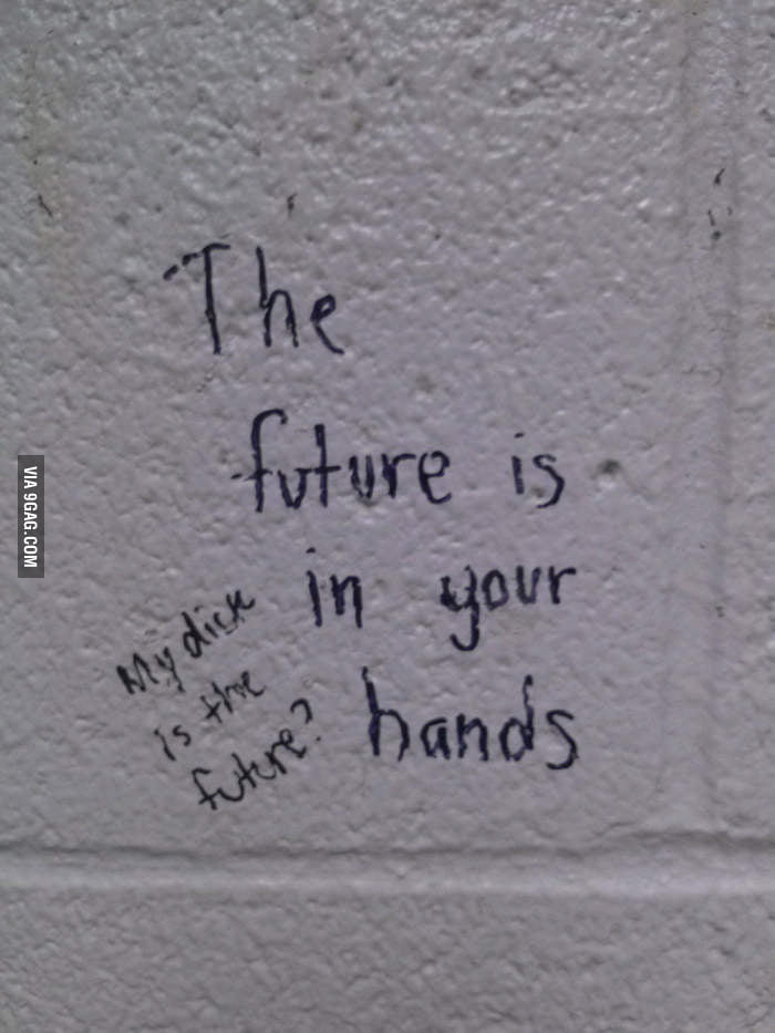 The future is in your hands.
